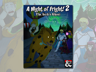 A Night of Fright! 2: The Lich'sGhost